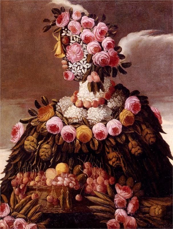 Giuseppe Arcimboldo, The Seasons, c. 1570.  Art Experience NYC  www.artexperiencenyc.com/social_login/?utm_source=pinterest_medium=pins_content=pinterest_pins_campaign=pinterest_initial