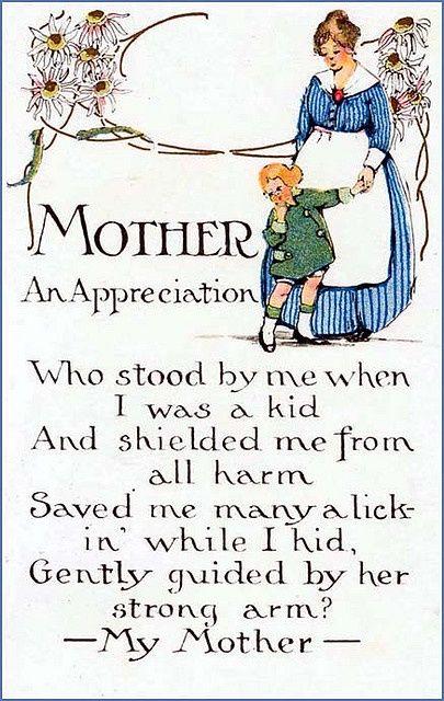 Vintage Mother's Appreciation !!