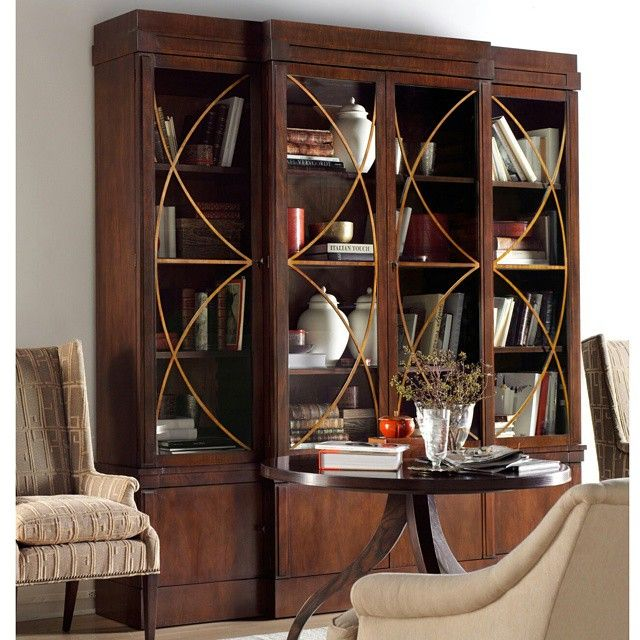 Inspired By Antique Dutch Neoclassical Library Cabinet, This Mahogany  #GrandCabinet By @hickorychair Is
