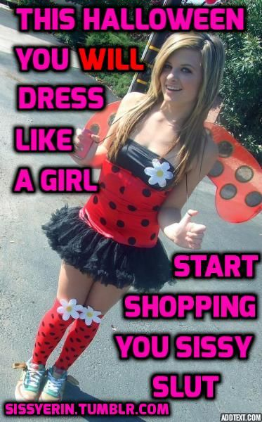 Sexy sissy crossdressers halloween