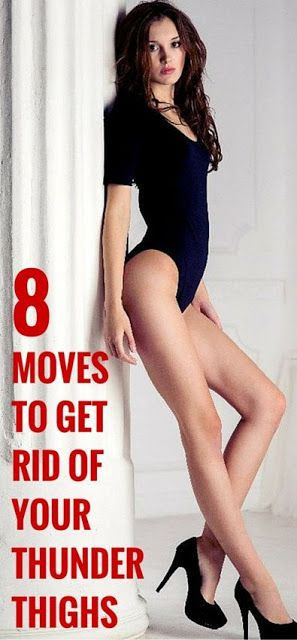 8 Moves to Get Rid of Your Thunder Thighs