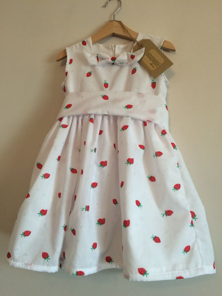 Handmade Kiddy Boutique dress £19.95. Available to order x