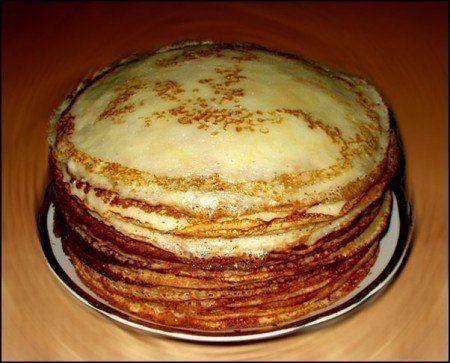 Готовим блины к завтраку, не перепачкав гору посуды