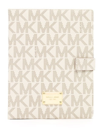 Carry your iPad with style with this Michael Kors  iPad Logo Stand ;)