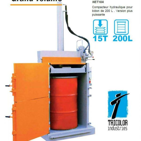 compacteur-bidon-hydraulique-NET18A