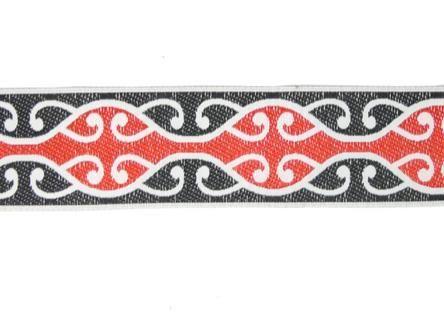 Maori Koru Braid for Headbands or Trim