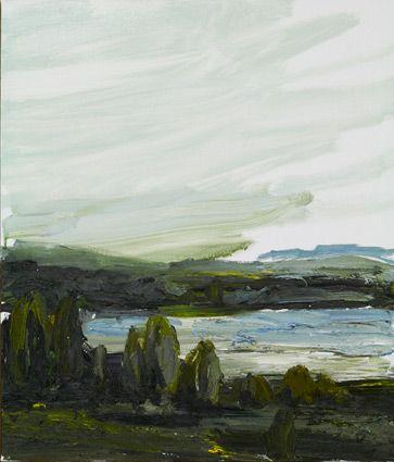 © Guy Maestri ~ No Man's Land #13 ~ 2011 oil on linen at Tim Olsen Gallery Sydney Australia