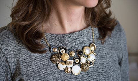 Cute as a button...with a vintage twist.