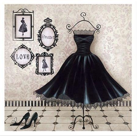 black dress litoarte