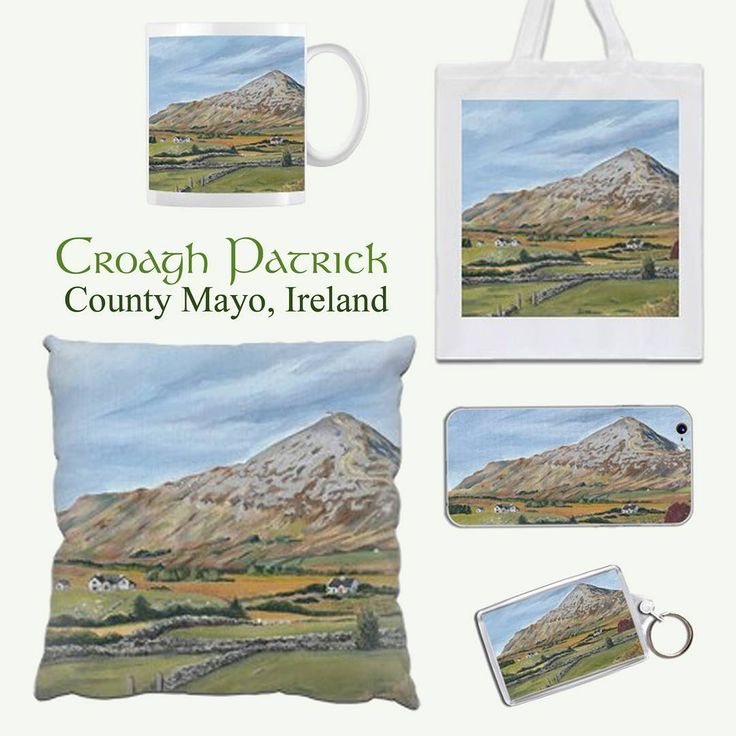My Croagh Patrick painting is now available on a range of printed gifts from @Zippi  Please take a look to see the whole range of items available:  https://www.zippi.co.uk/portfolio/suzannehole/croagh-patrick  #croaghpatrick #thereek #wildatlanticway #mayo #ireland #irish #zippi #art #gifts #giftware #homeware Like