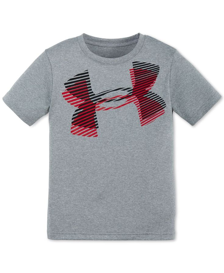 Under armour little boys 39 layered logo t shirt products for Dolphins t shirt new logo
