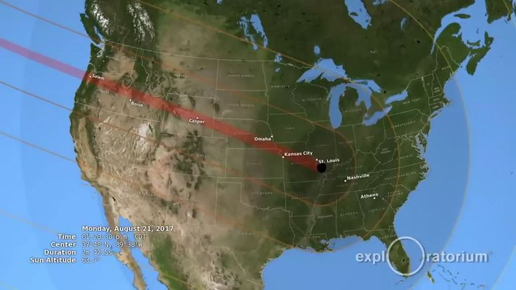 On August 21, 2017, a total solar eclipse will sweep across the U.S.A.