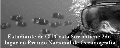 Estudiante de Biología Marina del CU Costa Sur obtiene segundo lugar nacional en presentación oral de trabajo de licenciatura | Centro Universitario de la Costa Sur