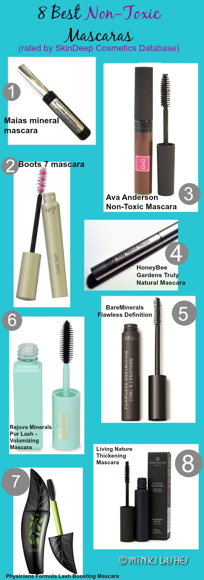 While we are all scouting for the non-toxic mascara's such as the ones above, we…