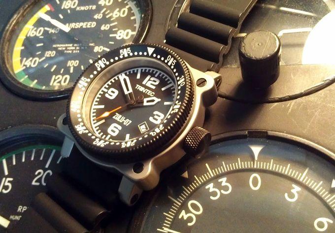 ZULU-07 PRO - Aircraft Inspired Automatic Wrist Watches by Brendon Nunes — Kickstarter