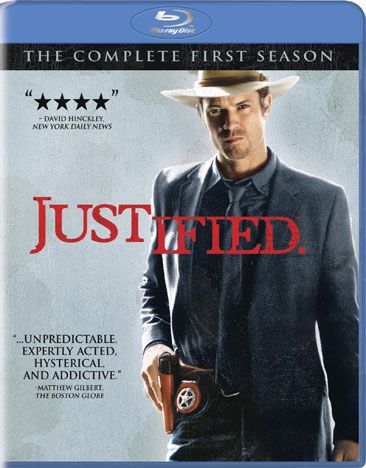 Adapted from characters created by beloved crime and western novelist Elmore Leonard, the series JUSTIFIED stars Timothy Olyphant as Deputy Marshal Raylan Givens, who always brings the bad guys to jus