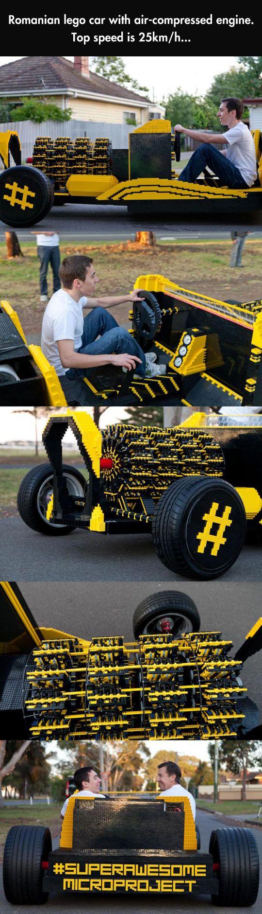 Romanian LEGO Car