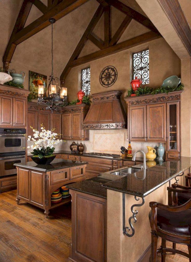 55 Tuscany Style Italian Kitchen Design Ideas. WohnenToskana Küche KücheneinrichtungToskanische ...