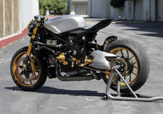 streetfighter ducati 1098 cafe racer | cafe racers | pinterest
