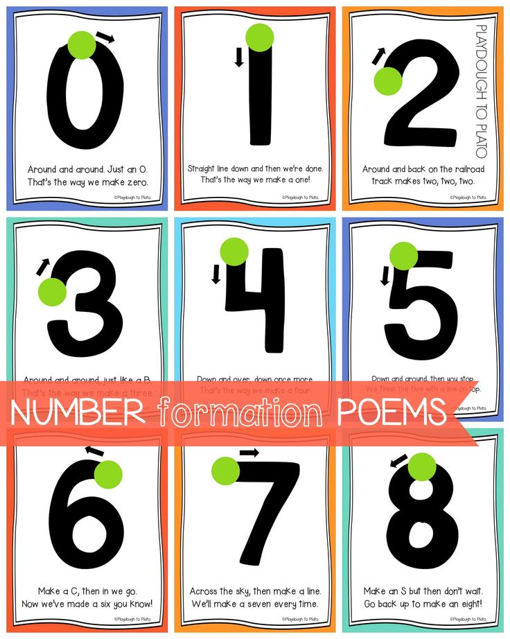 1000  ideas about Number Poems on Pinterest   Teen numbers, Number ...