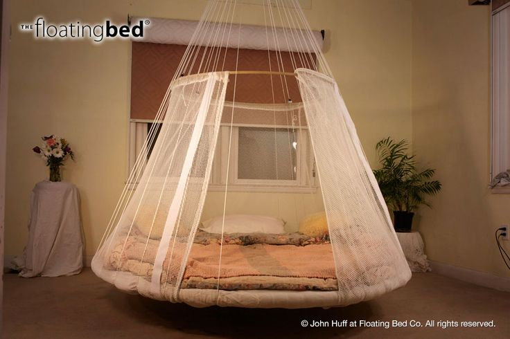 floating bed with childrens bed canopy