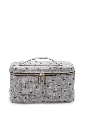 Cross Print Large Cosmetic Bag from @countryroad. #perth #countryroad #mothersday