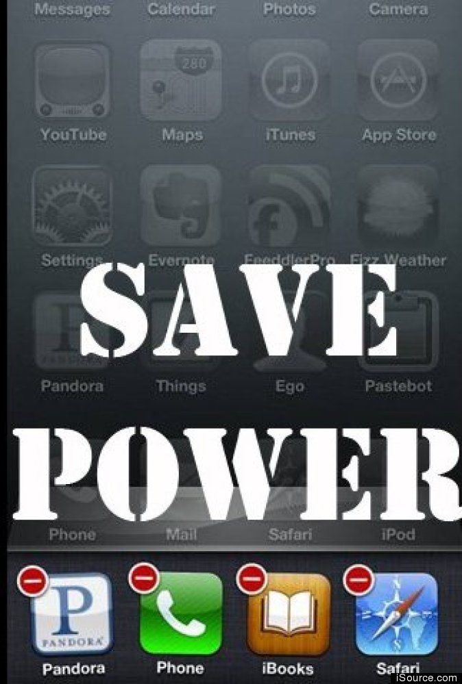 Closing Out Apps On Your iPhone Extends Battery Life