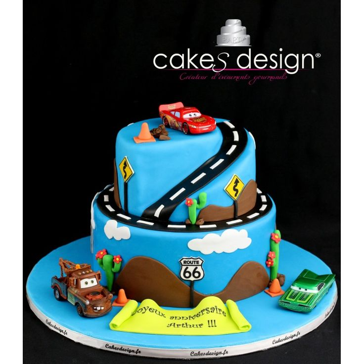 1000 idees sur le theme Cars Cake Design sur Pinterest ...