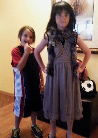 Little Sister Seems Amused Gender Role Reversal