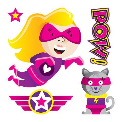 Supers-héros-féminin – picotatoo