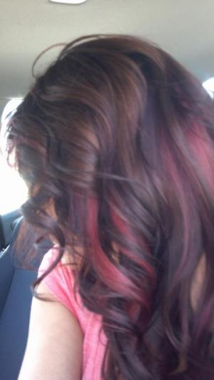 10 Best Images About Burgundy Streaks On Pinterest