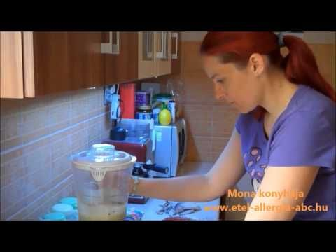 Zöldfűszeres házi sajt készítése - YouTube