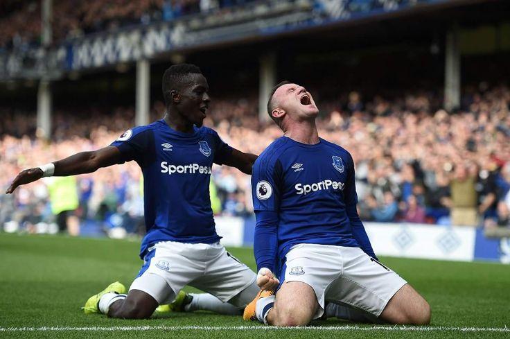 Rooney Everton 1 Stoke 0 12.08.2017