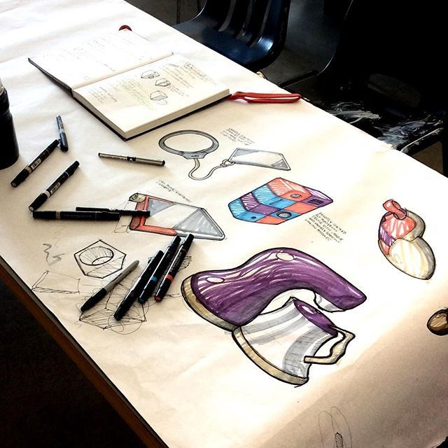 Sketch session from yesterday in the studio. #designsketching #idsketching #industrialdesign #design #sketch #sketching #sketchbook #productdesign #process #sketchaday #id #concept #invisibleobjects
