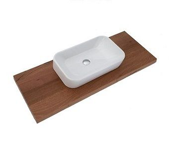 Timber Top : Sealed Timber Vanity Tops