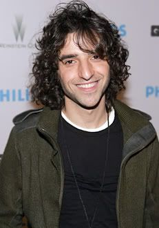 David Krumholtz - currently rewatching Numb3rs. I want a Charlie Epps of my own.