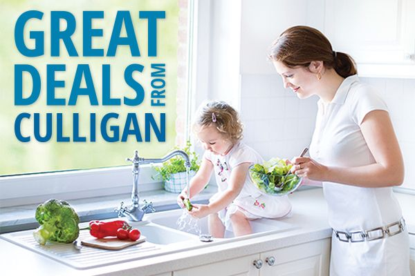 Find great deals from your Culligan Man at: http://www.culliganwater.com/special-offers/