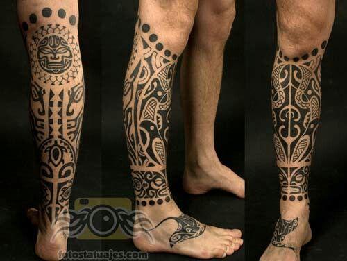 Tatuaje pierna   Tatuajes   Pinterest