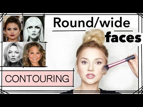 Round/Wide Faces - PART 7 (CONTOURING SERIES) - YouTube