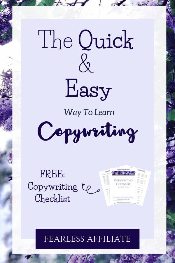 Lerne Copywriting für Anfänger und verbessere dein Online-Geschäft