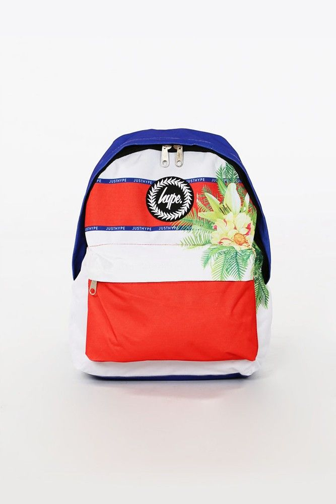 HYPE. SPORTING FLORAL BACKPACK