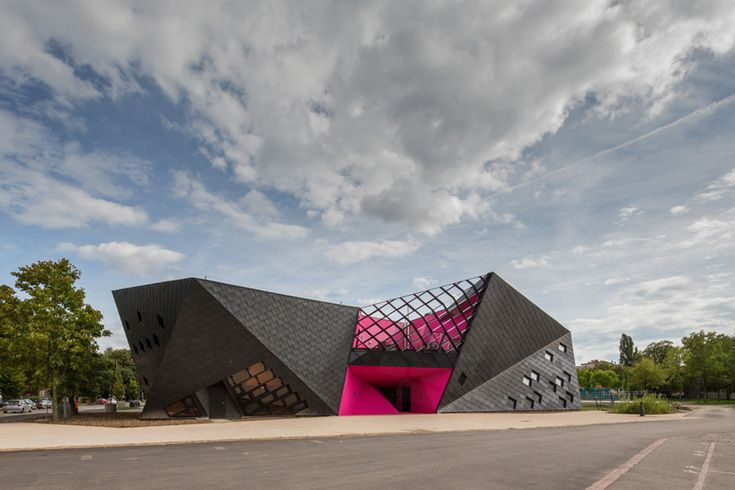 paul le quernec architect realizes cultural center in mulhouse, france