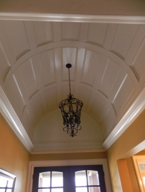18 best images about unique ceilings on pinterest home for Cool painted ceilings