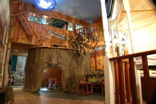 Indoor tree house suite, Adventure suites North-Conway, NH: Ideas, Favorite Places, Hotel Suites, Treehouse Suite, Treehouses, Kids Rooms, Treehouse Room