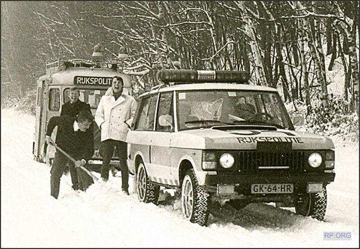 Range Rover Classic Rijkspolitie