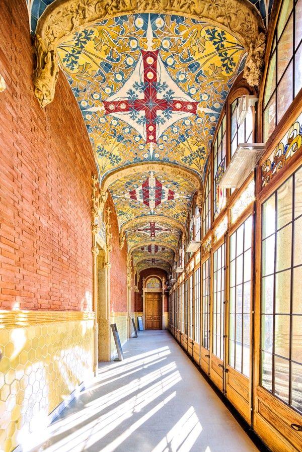Sant Pau's Hospital Restoration, Barcelona