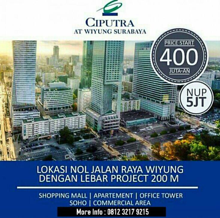 CIPUTRA WIYUNG Apartemen SuperBlock O Jalan Raya Wiyung