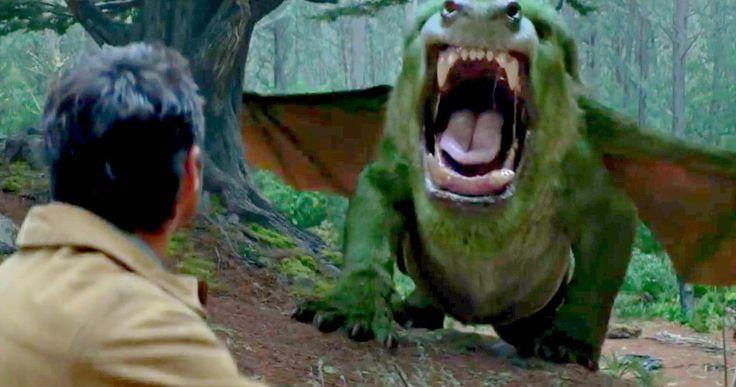 Pete's Dragon TV Trailer Shows Off Elliott's Dangerous Side -- A wild boy is discovered hiding in the woods alongside his furry green pal Elliott in the latest sneak peek at Disney's Pete's Dragon remake. -- http://movieweb.com/petes-dragon-tv-trailer-elliott/