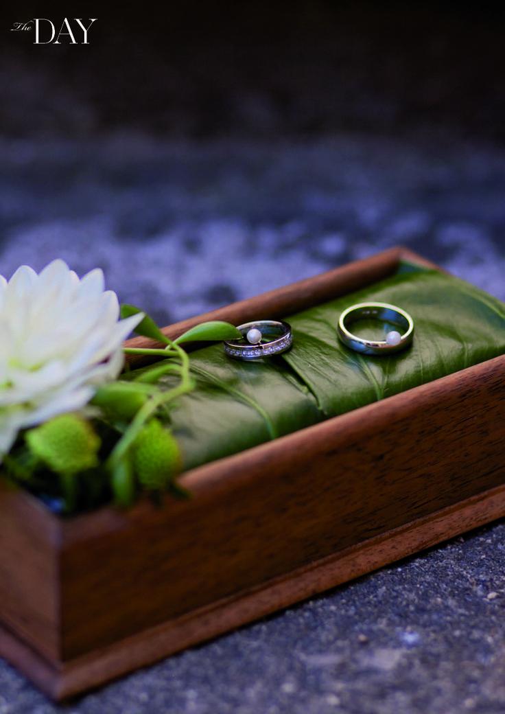 Svatební prstýnky, bez těch se nedá začít.
