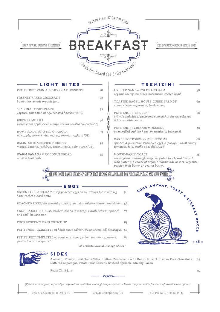 PETITENGET | Breakfast